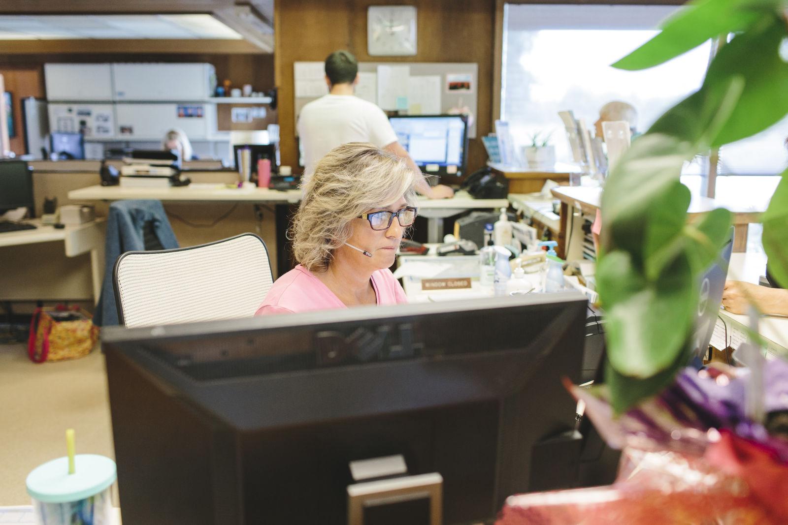 Vera staff member