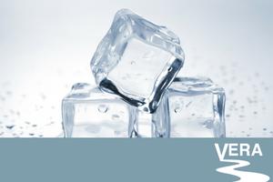 Iced cubes